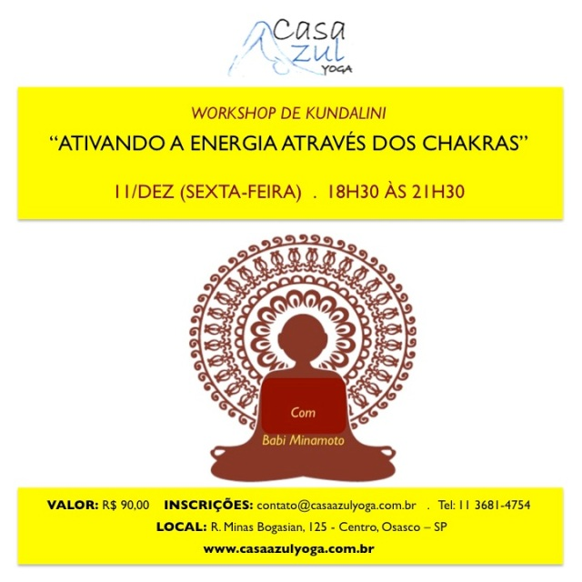 FACEBOOK_WORKSHOP Ativando Kundalini atraves dos Chakras_11DEZ_CASAAZUL