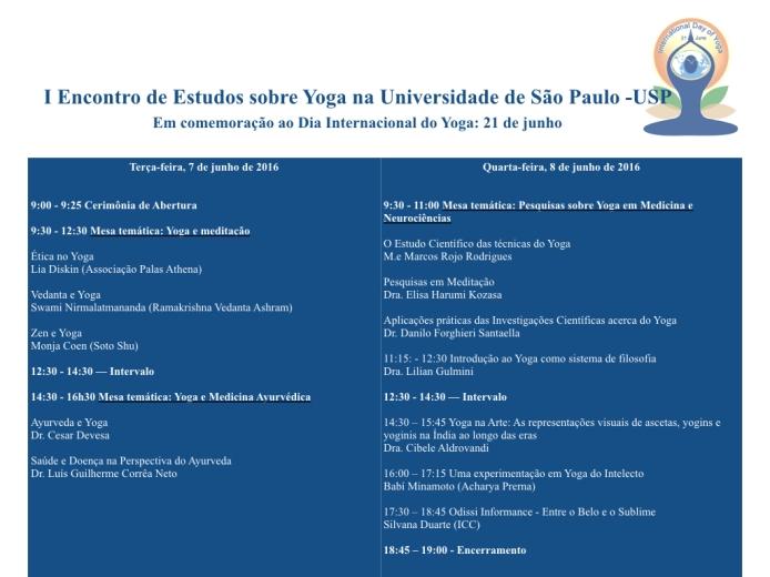 I Encontro de Estudos de Yoga USP_2